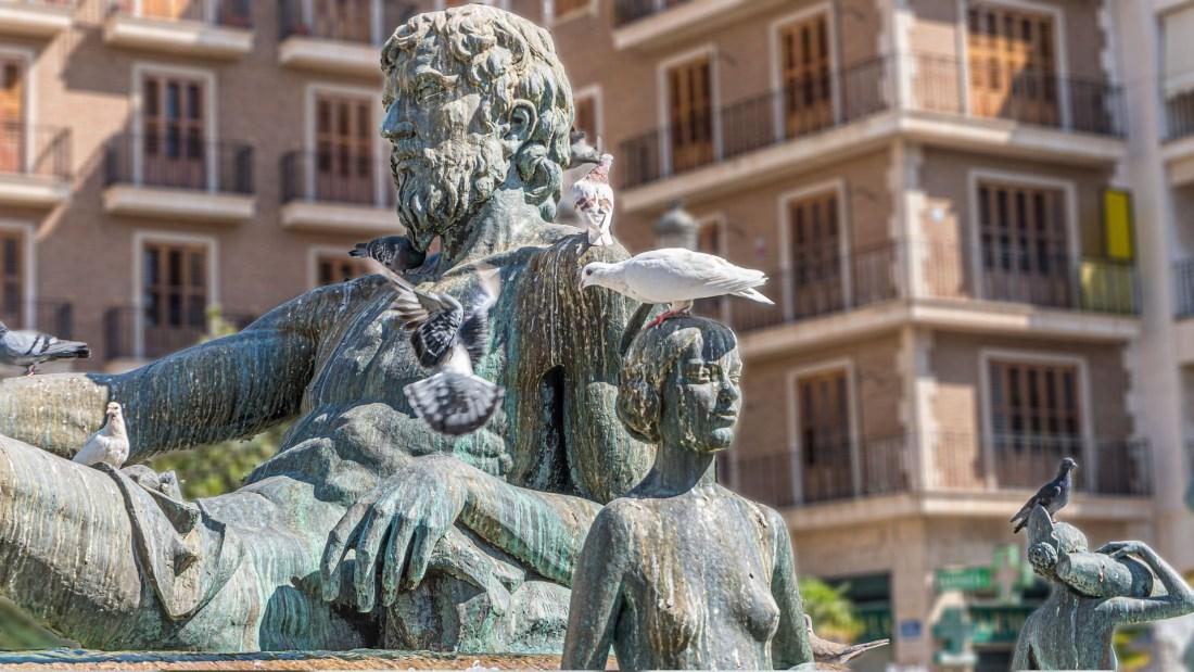 Valencia-fountain