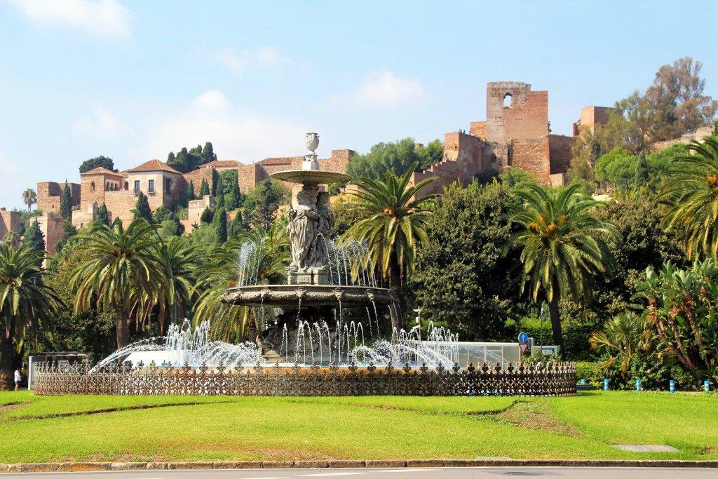 Malaga_spain_fountain