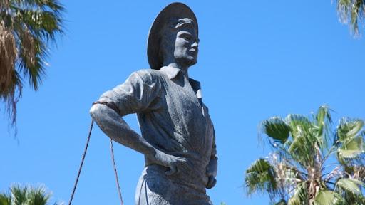 El Cenachero Statue In Malaga
