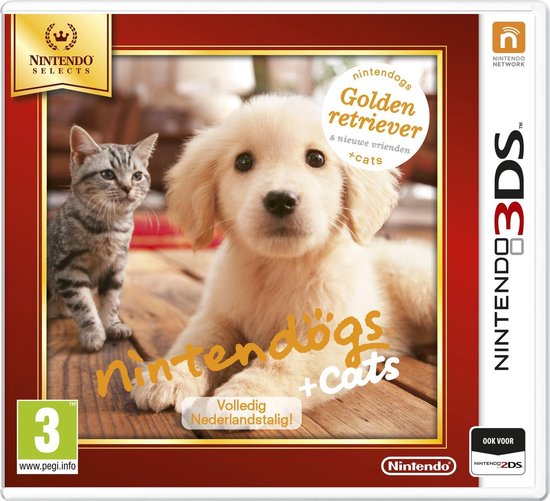 Nintendo spel golden retrievers