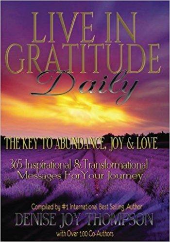 live in gratitude daily