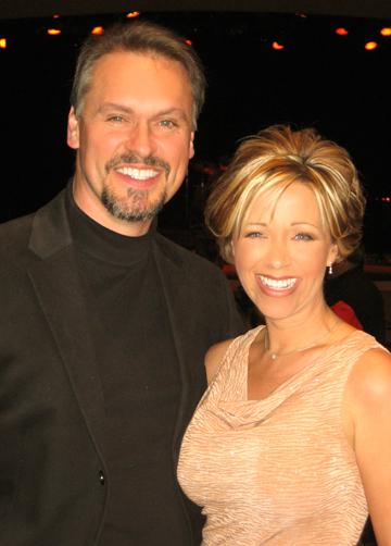 "Ron and Lisa Smith at ""Hit Parade"" Show"