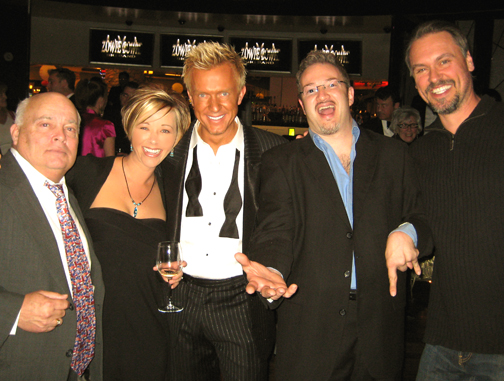 Hangin' with Buddy, Chris (Zowie Bowie) and Mark after the show!