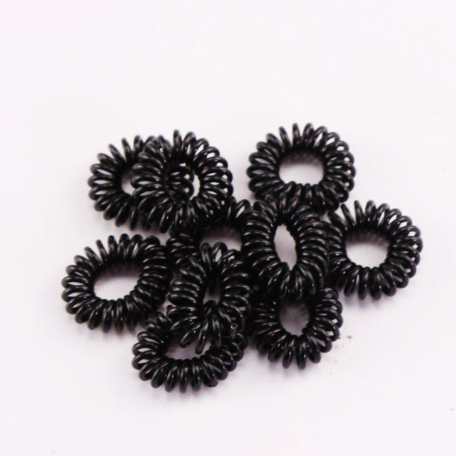 10PCS/Lot 2cm Small Telephone Line Elastic Hair Bands