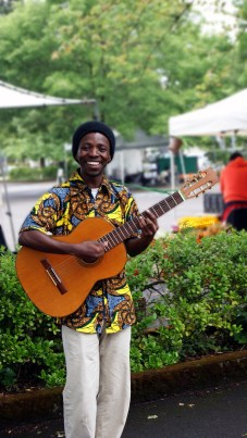 this street musician happily posed for me