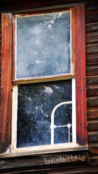 upstairs window in a building in Garnet