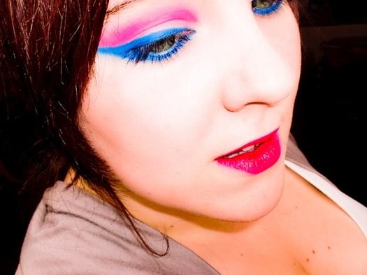Holi makeup