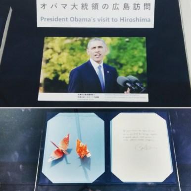 Obama's visit to Hiroshima