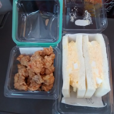 Train Meal: Chicken and Egg Salad