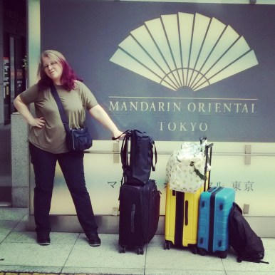 Checking into the Mandarin Oriental Tokyo
