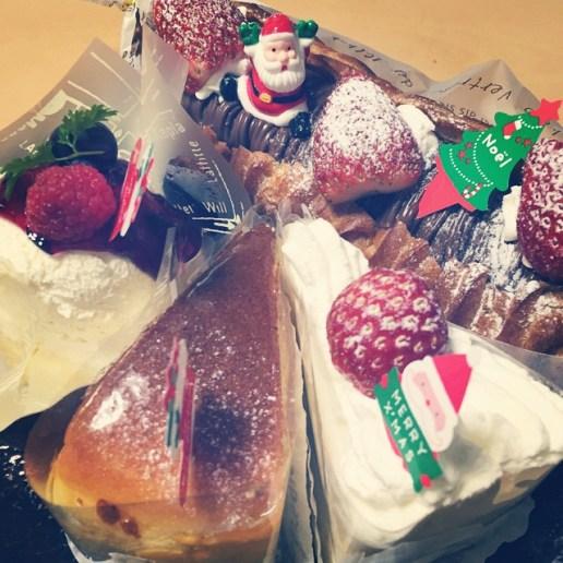 クリスマスケーキ 2014