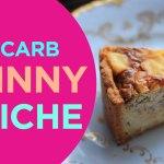 Skinny Quiche | LowCarbPlanner
