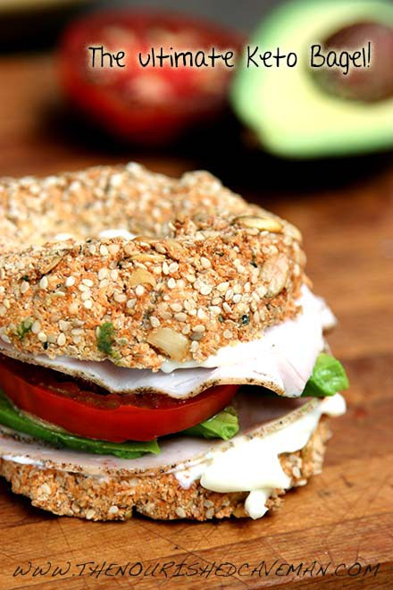 The Ultimate Keto Bagel!