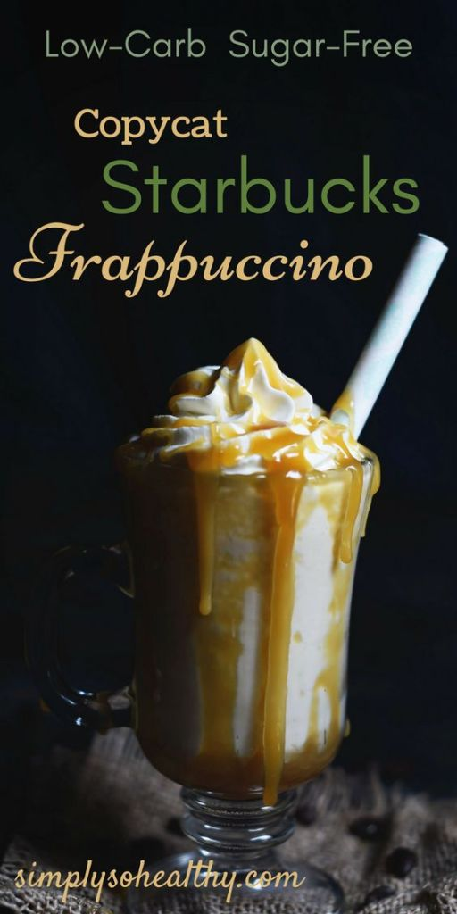 Low-Carb Copycat Starbucks Frappuccino