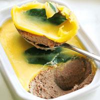 Pate-keto-alto teor de gordura-manteiga