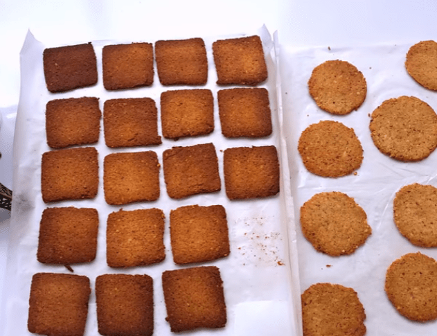 Biscoito low carb doce