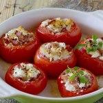 Receita de Tomate Recheado com Presunto Low Carb
