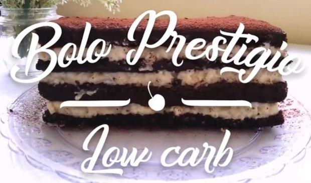 Receita de Bolo Prestígio Low Carb
