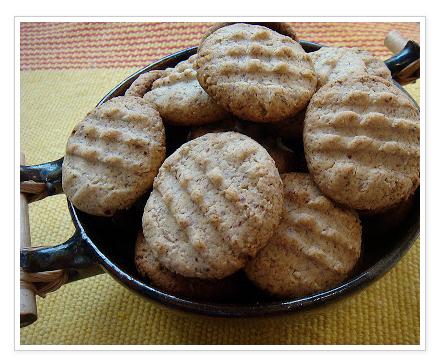 Biscoito de Amêndoa Low Carb Com 4 Ingredientes