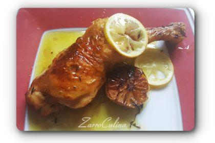 Mediterranes Zitronenhähnchen