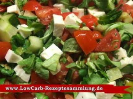 Tomatensalat-Low-Carb