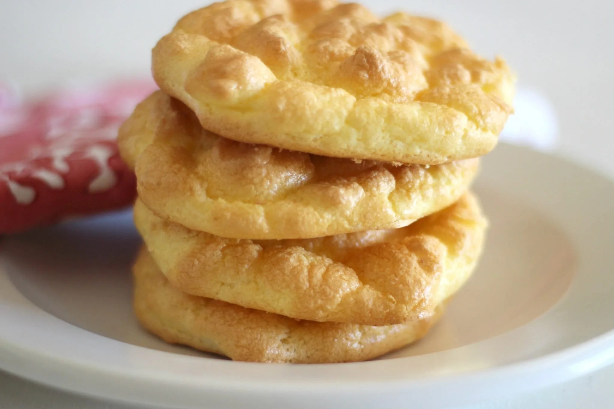 Cloud bread is a spongy egg based bread substitute that can either be made sweet or savory. Learn how to make basic cloud bread!