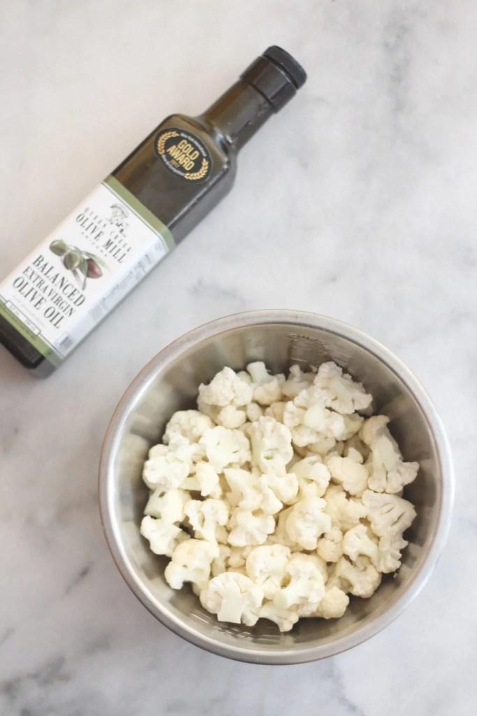 Roasted Cauliflower Popcorn Low Carb Delish