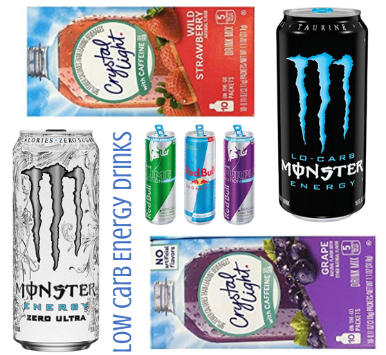 Low Carb Energy Drinks