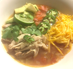 keto mexican chicken soup