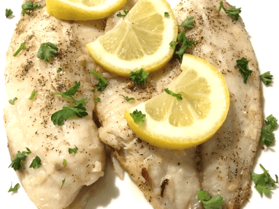 Lemon Garlic Butter Tilapia