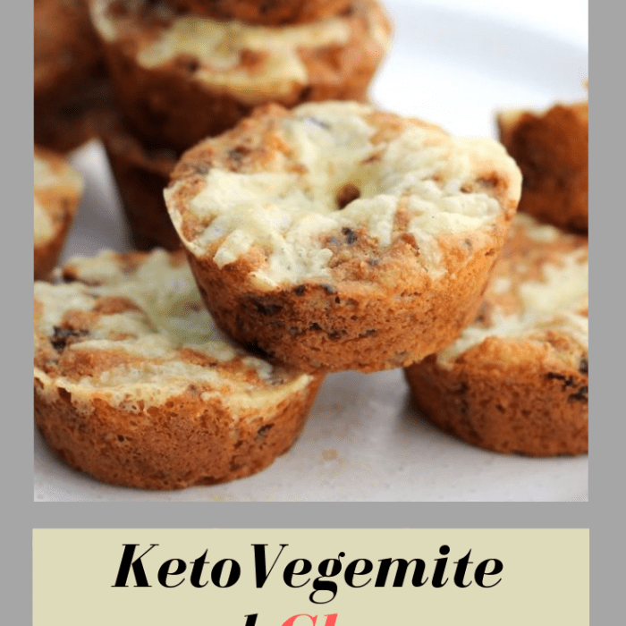 Keto Vegemite and Cheese Scones