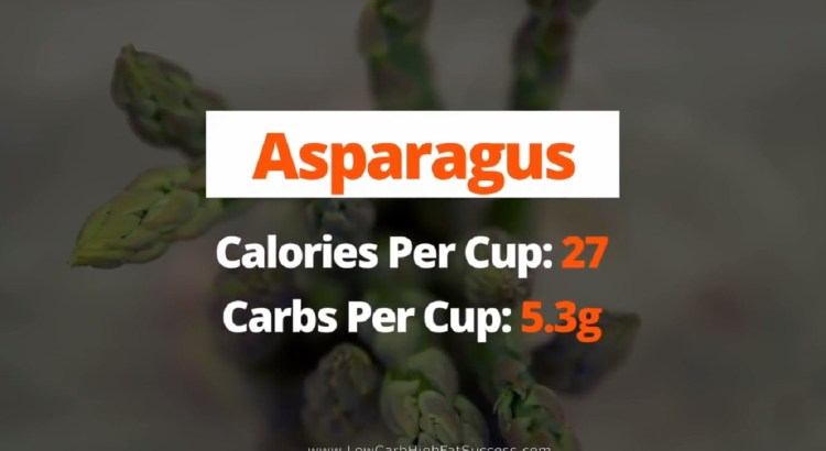 Asparagus - calories, carbs, health benefits as a low carb food