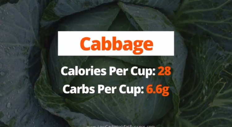 Cabbage - calories, carbs, and health benefits low carb food
