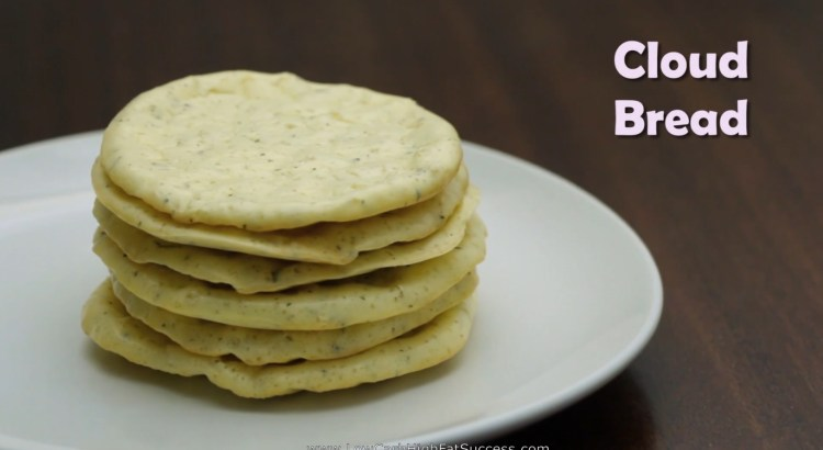 Cloud Bread Low Carb Ketogenic Diet Recipe