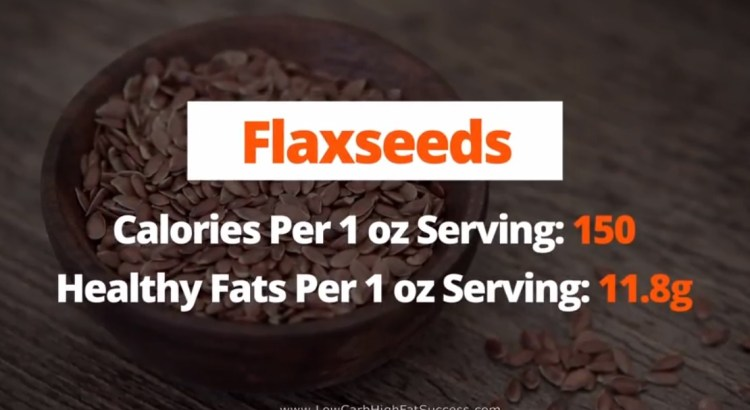 Flaxseeds - calories, fats, and health benefits low carb food