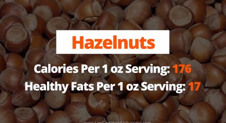 Hazelnuts - calories, fats, health benefits low carb food