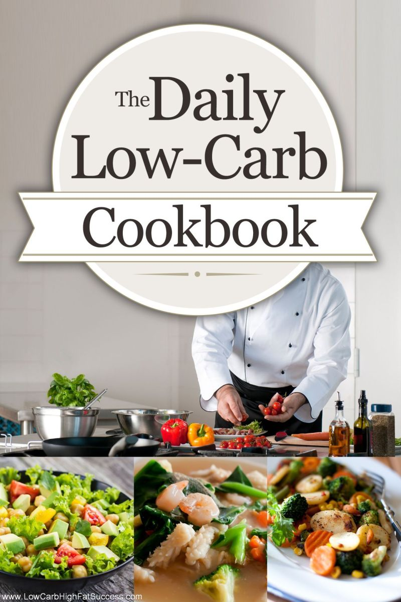 The Daily Low Carb Cookbook Flat eCover