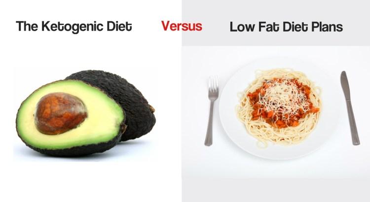 The Ketogenic Diet Versus Low Fat Diet Plans
