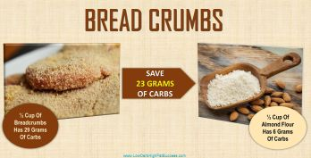 low carb swap for bread crumbs