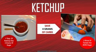 low carb swap for ketchup