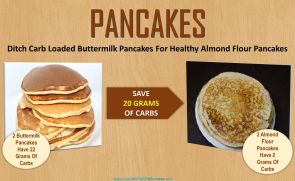 low carb swap for pancakes