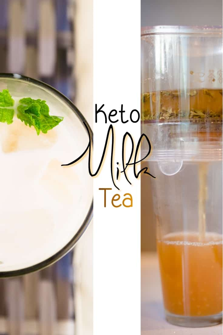 keto Homemade Milk Tea pin1