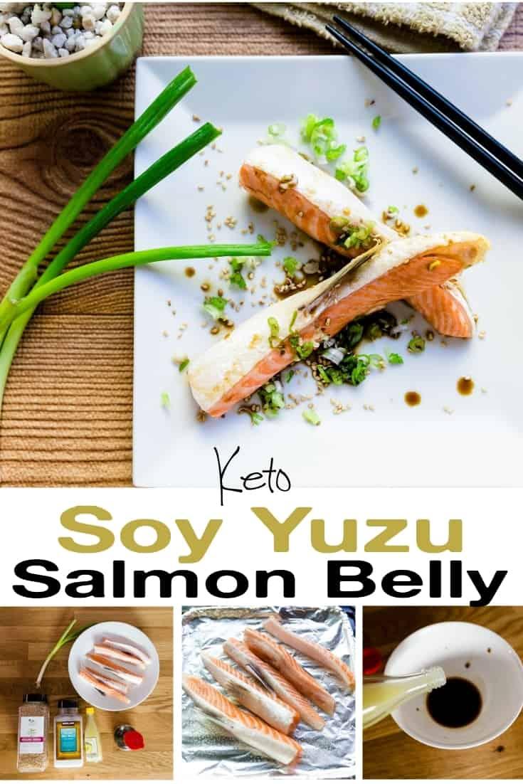 Soy Yuzu Salmon Belly pin 2