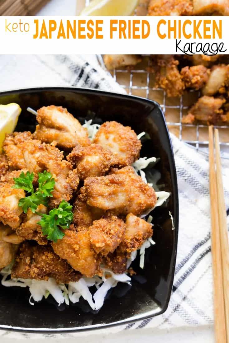 Keto Karrage Japanese Fried Chicken Pin 1