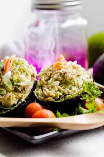 keto Asian Avocado Crab Bowl cover