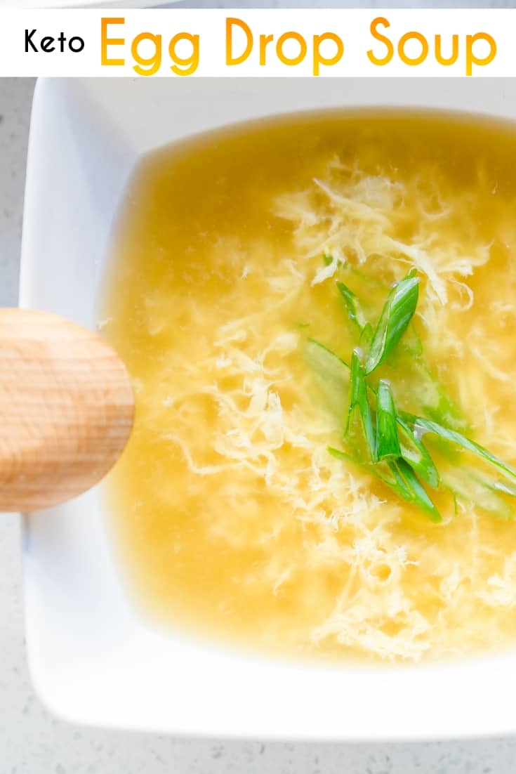 keto Egg Drop Soup pin 2