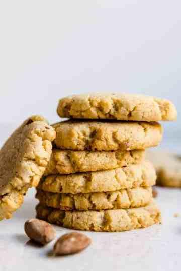 Keto Cream Cheese Almond Cookies Cover