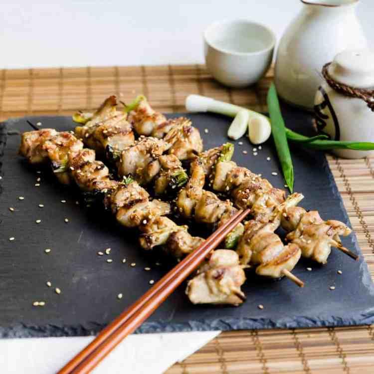 Keto Japanese Chicken Skewers - Yakitori Pic 2
