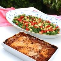 Low carb high protein lasagne (Skyhøj og BUB venlig) :)
