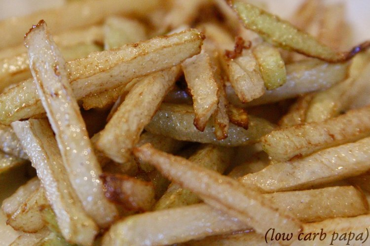 Kohlrabi French Fries